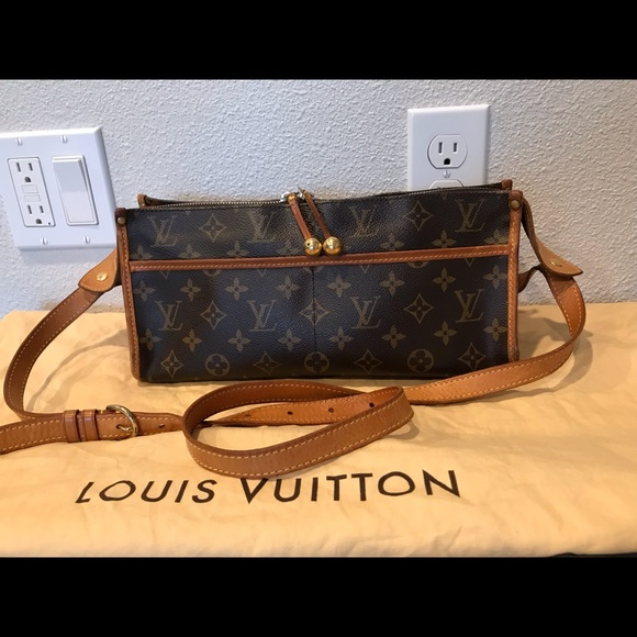 f1492a921b8e Louis Vuitton Handbags - authentic louis vuitton popincourt crossbody purse